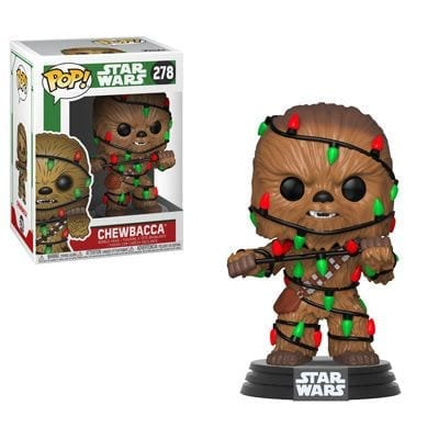 Figura Chewie Funko POP Star Wars con Luces