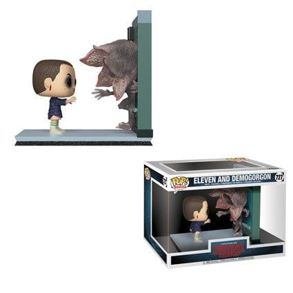 Figura Eleven y Demogorgon Funko POP Movie Moment Stranger Things Series