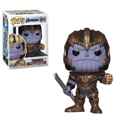 Figura Thanos Funko POP Avengers Endgame Marvel