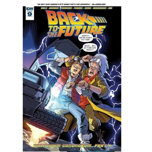 Revistilla Back to The Future IDW Comics Back to The Future Ciencia Ficción Vol 2 #9