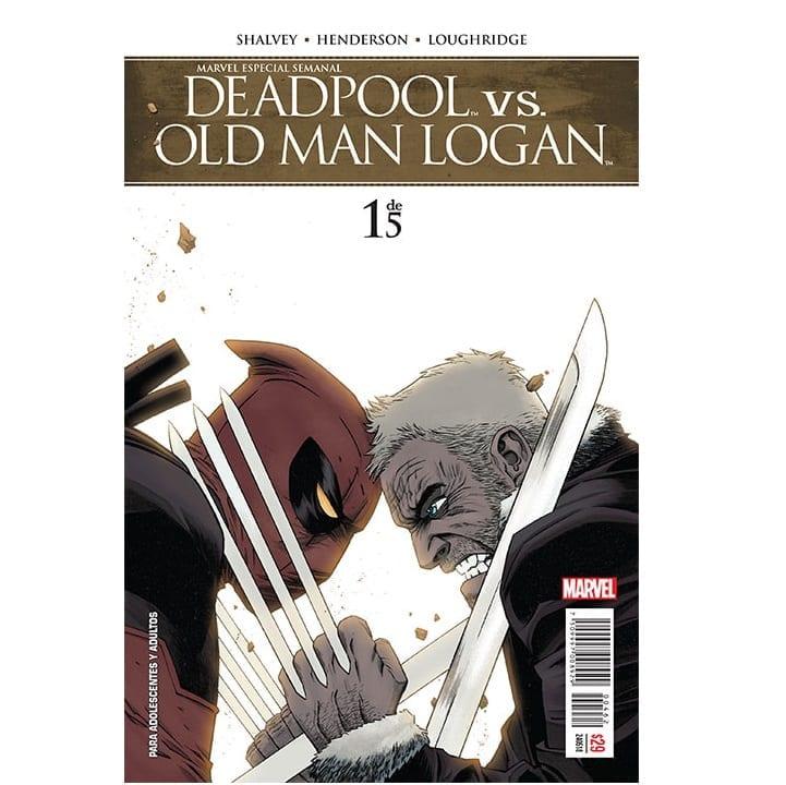 Revistilla Deadpool & Wolverine Marvel Comics Deadpool Marvel Deadpool vs Old Man Logan #1