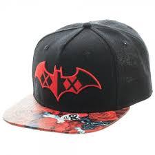 Gorra Batman Harley Quinn  Bioworld DC Comics Logo Mezclado