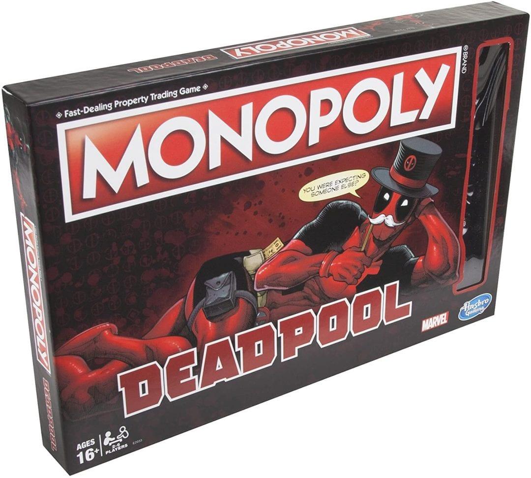 Juego de mesa Monopoly Deadpool (Entrega de 4 a 5 semanas una vez realizado el pago)