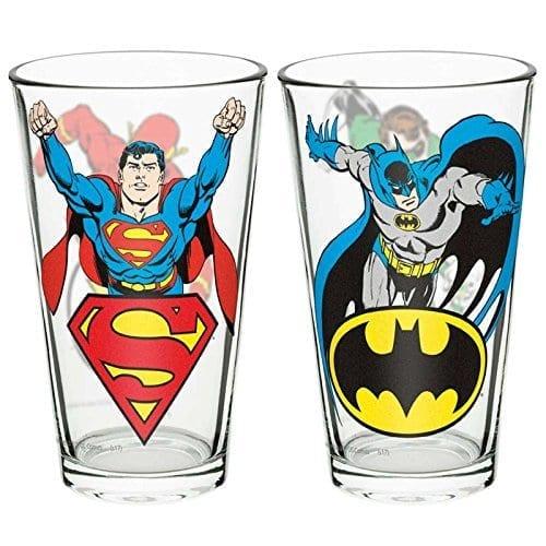 Set de Vasos Liga de la Justicia Zak Liga de la Justicia DC Comics en Vidrio