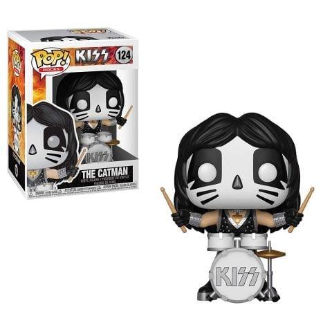 Figura Catman (Peter Criss) Funko POP Kiss Músicos