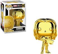 Figura Gamora Funko POP Guardianes de la Galaxia Marvel Dorado Marvel Studios Aniversario 10 años