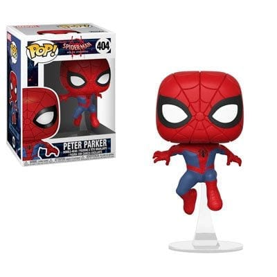 Figura Peter Parker Funko POP Spiderman in to the Spiderverse Marvel