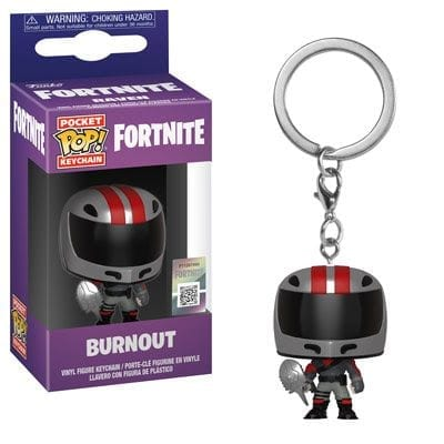 Llavero Burn Out Funko POP Fortnite Videojuegos