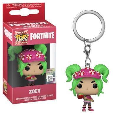 Llavero Zoey Funko POP Fortnite Videojuegos