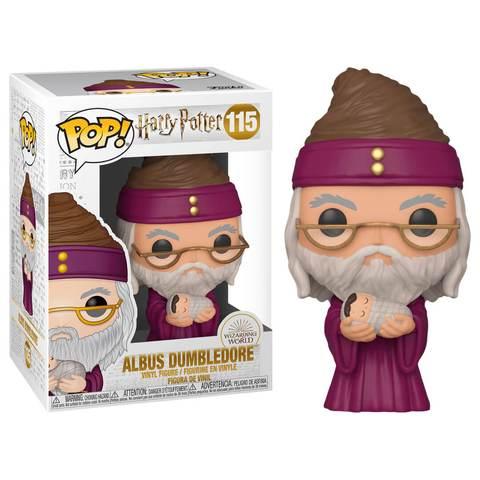 Figura Dumbledore con Harry Bebé Funko POP Harry Potter Fantasia
