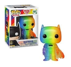 Figura Batman Funko POP Batman DC Comics Versión Pride 2020