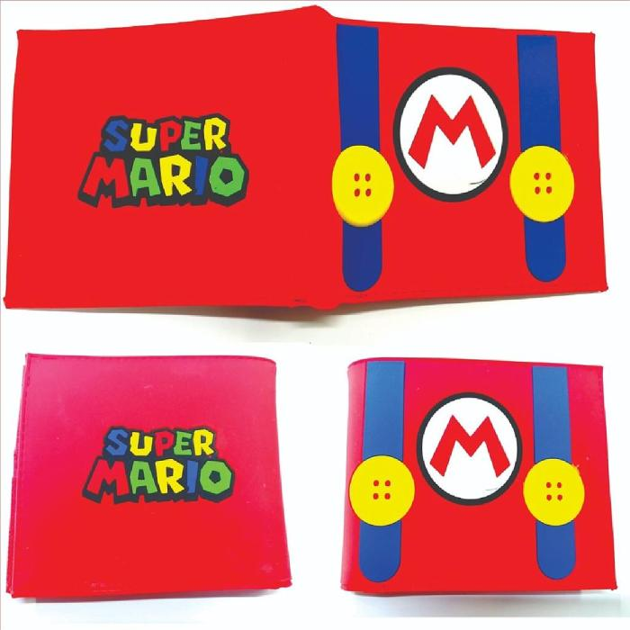Billetera Mario Bros PT Mario Bros Videojuegos Traje Super mario (copia)
