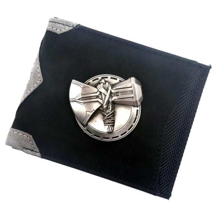 Billetera Stormbreaker PT Thor Marvel de Botones Para Ajustar a Cinturon