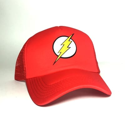 Gorra Malla Flash Logo TooGEEK DC Comics
