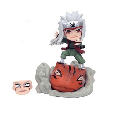 """Figura Jiraiya Naruto Anime con Invocación y Cambio de Rostro 5"""""""