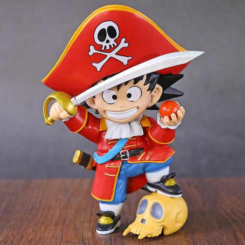"Figura Goku Banpresto Dragon Ball Anime Disfraz de Pirata 6"""