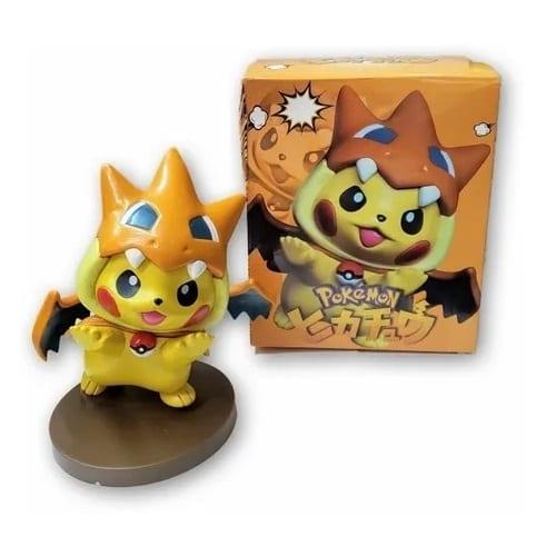 """Figura Pikachu Pokémon Company Pokémon Anime Disfrazado de Charizard Region X 6"""" (copia)"""
