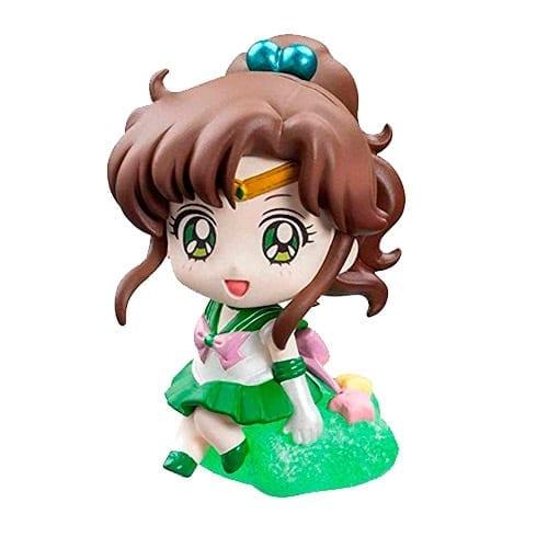"Figura Sailor Jupiter Petit Sailor Moon Anime Sentada en Estrella 2"" (copia)"