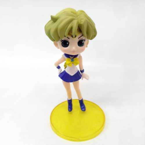 """Figura Sailor Uranus Q Posket Sailor Moon Anime Base Amarilla 4"""" (Copia)"""
