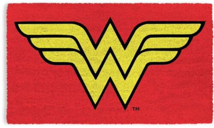 Tapete Wonder Woman Pyramid Liga de la Justicia DC Comics Logo