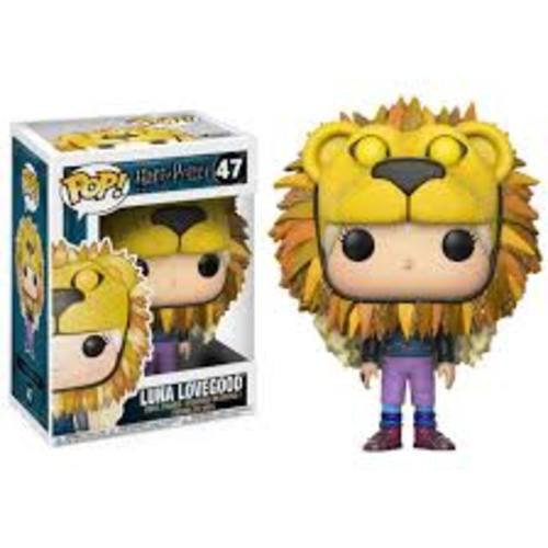 Figura Luna Lovegood Funko POP Harry Potter Fantasía Sombrero León