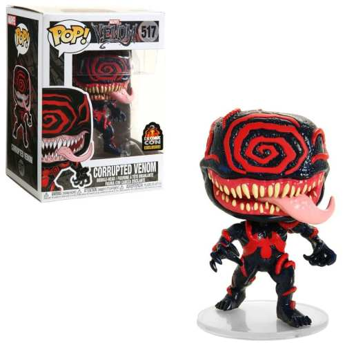 Figura Venom Funko POP Spiderman Marvel Corupto Exclusivo Especial Series