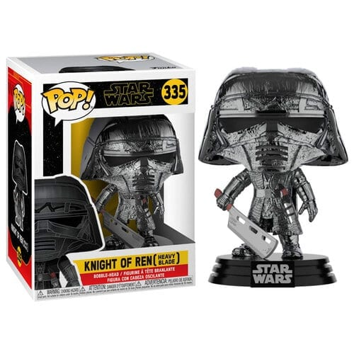 Figura Knight of Ren Funko POP Star Wars Heavy Blade