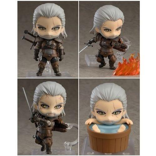 Figura Geralt Good Smile Nendoroid The Witcher Videojuegos (Copia)