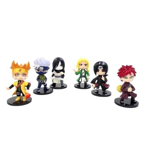 Figura Naruto Personajes Varios PT Naruto Shippuden Anime (Unidad)