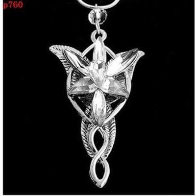 Collar Estrella de la Tarde de Arwen PT Señor de los Anillos Fantasía