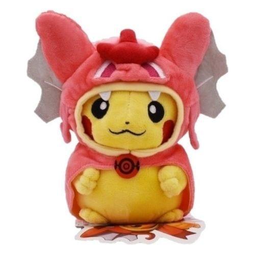 Peluche Pickachu Disfrazado Gyarados PT Pokémon Anime Small