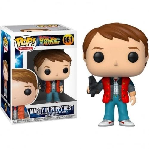 Figura Marty McFly Funko POP Back to The Future Ciencia Ficción