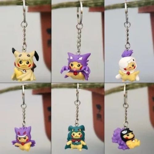 Llavero Pikachu PT Pokémon Anime Disfrazado (Copia)