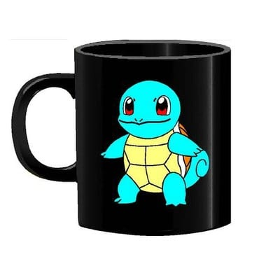 Mug Tallado Squirtle TooGEEK Pokémon Anime