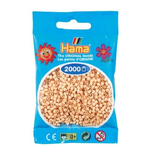 Cuencas Hamma Beads Pictograma Didácticos Tamaño Mini Paquete 2000 Piezas Color Beige