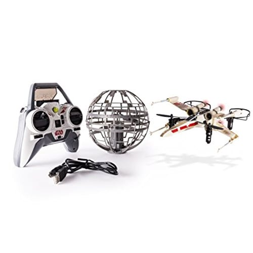 Vehículos Dron Air Hogs X-wing Versus Death Star  Star Wars
