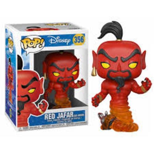 Figura Genie Red Jafar Funko POP Aladdin Disney