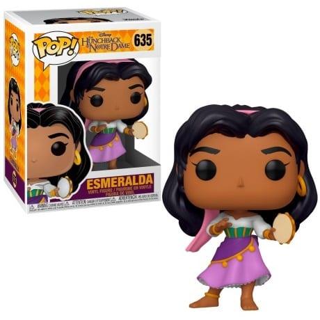 Figura Esmeralda Funko POP El Jorobado de Notredame Disney
