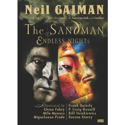 Novela Gráfica Sandman Vertigo Endless Nights Iconos ENG