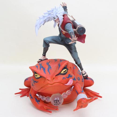 """Estatuilla Jiraiya PT Naruto Anime con Invocación de Sapo 15"""""""