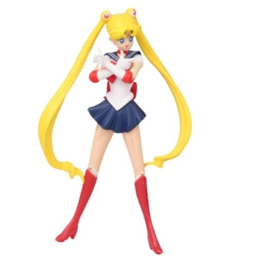 Figura Sailor Moon PT Anime 7'' Base Blanca en Bolsa