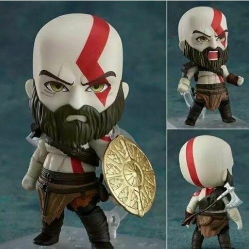 Figura Kratos Good Smile Nendoroid God of War Videojuegos 925 High Quality Reproduction