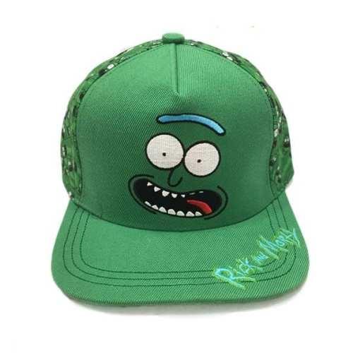 Gorra Rick PT Rick and Morty Animados Pickle Rick con Mosaico
