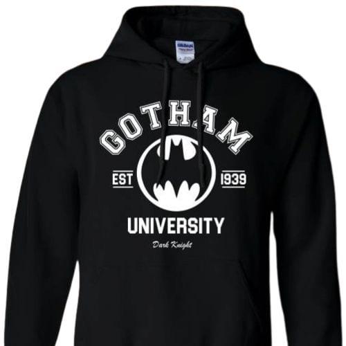 Hoodie Gotham University Jaimito Batman Dark Night DC Comics Talla (L)