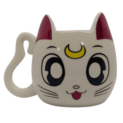 Mug Cerámico Luna PT Sailor Moon Anime Cara 3D
