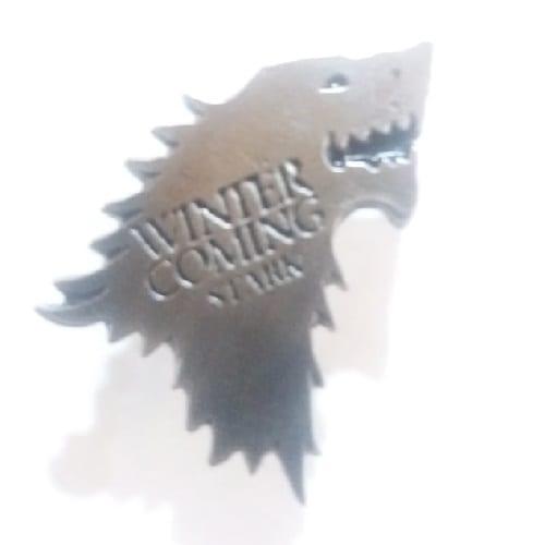 Pin Metálico Logo Casa Stark TooGEEK Game of Thrones Series