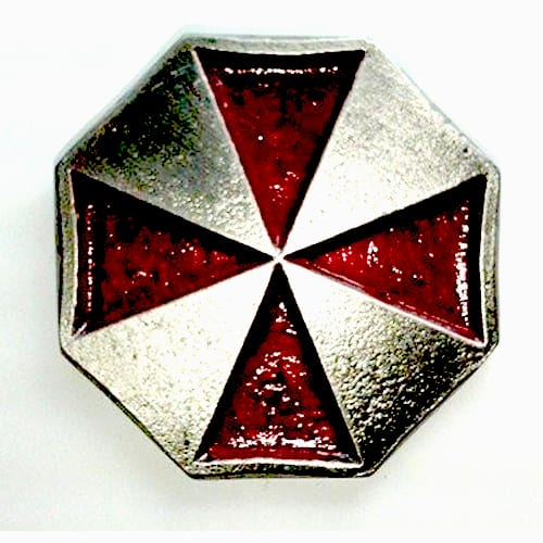 Pin Metálico Logo Umbrella TooGEEK Resident Evil Terror Color