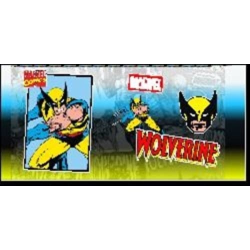Botella Metálica Wolverine Jaimito Marvel