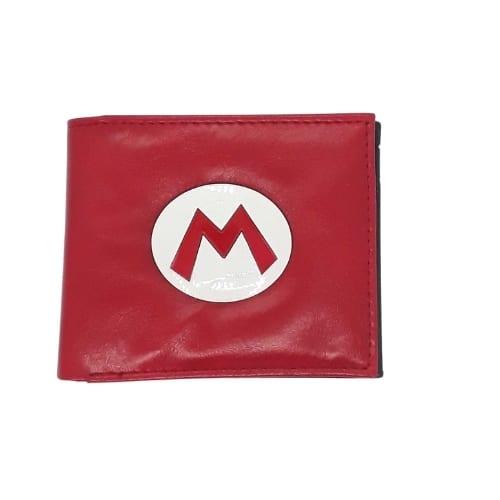 Billetera Mario Bros PT Nintendo Videojuegos Ecocuero Logo Super Mario