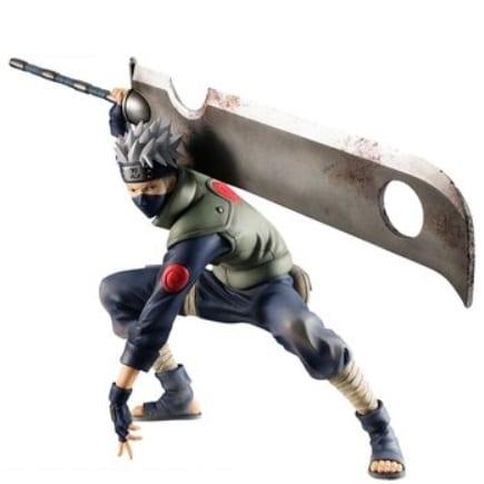 """Estatuilla Kakashi Hatake PT Naruto Anime Shinobi World War en Caja 7"""" (Copia)"""
